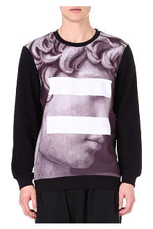 SYSTVM David printed sweatshirt