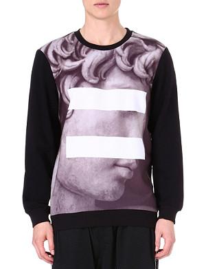 SYSTVM David printed sweatshirt