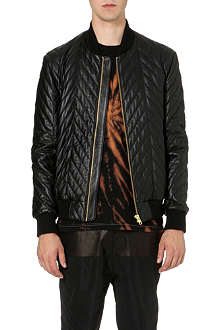 BLOOD BROTHER Alpha quilted leather jacket