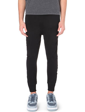 BLOOD BROTHER Drop-crotch cotton jogging bottoms