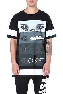 BLOOD BROTHER Oversized eye-print t-shirt