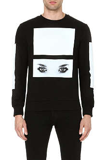 BLOOD BROTHER Placement eye sweatshirt