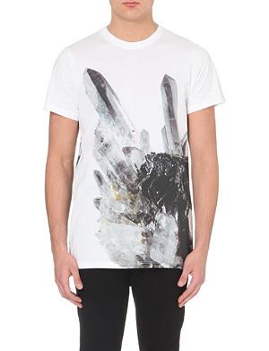 BLOOD BROTHER Crystal-print t-shirt