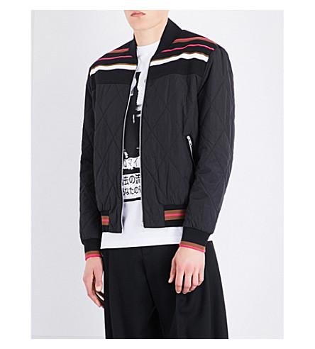 MCQ ALEXANDER MCQUEEN Taigen quilted bomber jacket (Darkest+black