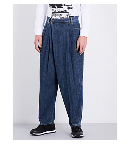 MCQ ALEXANDER MCQUEEN Relaxed-fit wide jeans (Vintage+wash