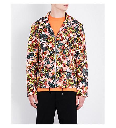 MCQ ALEXANDER MCQUEEN Floral-print shell jacket (Darkest+black