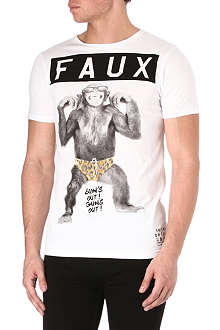 FRIEND OR FAUX Apeshine t-shirt