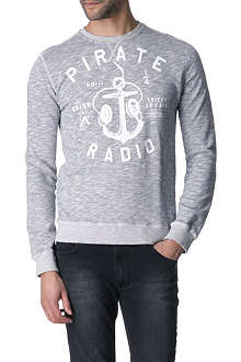 FRIEND OR FAUX Pirate Radio sweatshirt