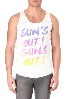FRIEND OR FAUX Sun's Out vest