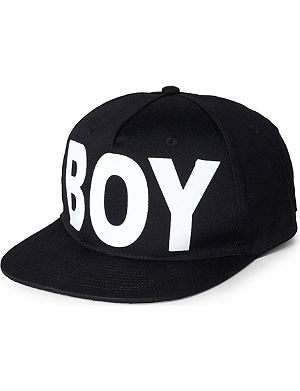 BOY LONDON Boy snapback cap