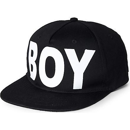 BOY LONDON Boy snapback cap (Black