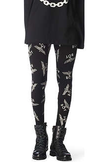 BOY LONDON Eagle repeat leggings