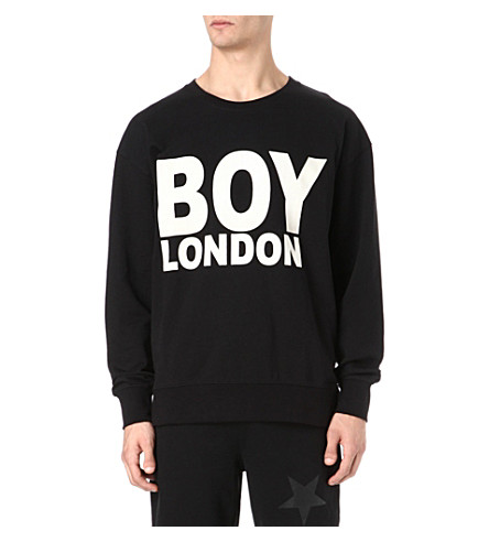 BOY LONDON Logo sweatshirt (Black