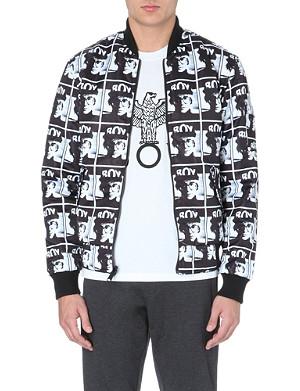 BOY LONDON Andy Warhol reversible bomber jacket