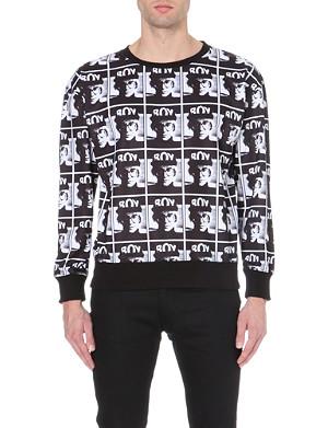 BOY LONDON Andy Warhol photo-print jersey sweatshirt