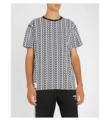 BOY LONDON徽标-印花棉衫 t恤衫 (多