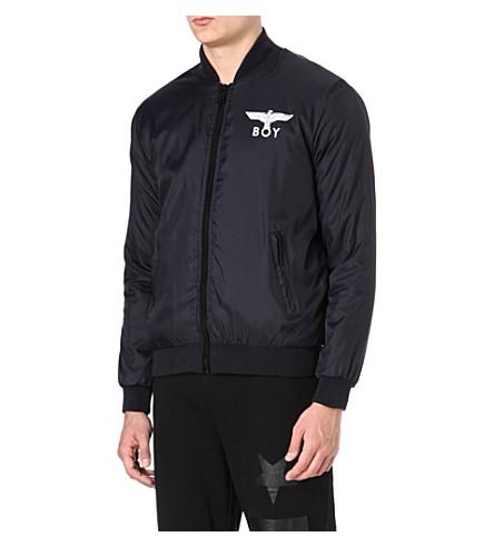 BOY LONDON Baseball jacket (Black