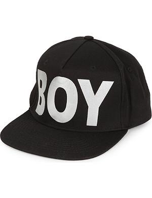 BOY LONDON Metallic BOY snapback cap