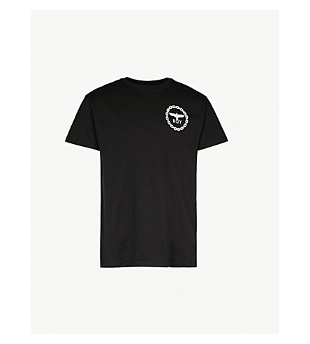 BOY LONDON Eagle-print cotton t-shirt (Black