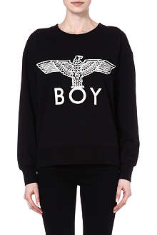 BOY LONDON Eagle batwing-sleeve sweatshirt
