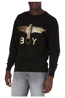 BOY LONDON Foil eagle sweatshirt