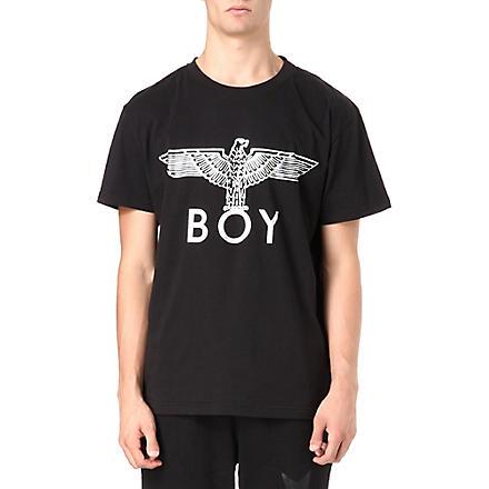 BOY LONDON Eagle foil t-shirt (Black/silver