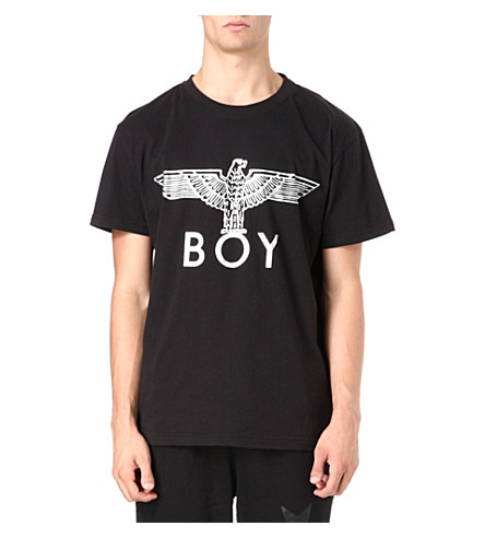BOY LONDON Eagle foil T-shirt (Black/silver
