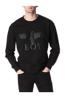 BOY LONDON Tonal Boy Eagle sweatshirt