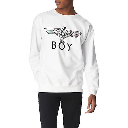 BOY LONDON BOY Eagle sweatshirt (White
