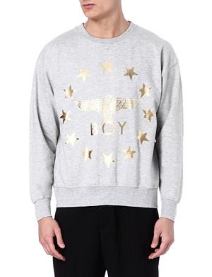 BOY LONDON Globe Star Eagle sweatshirt