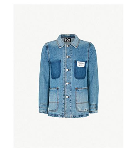BOY LONDON BOY is Love denim jacket (Blue