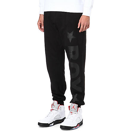 BOY LONDON Logo jogging bottoms (Black