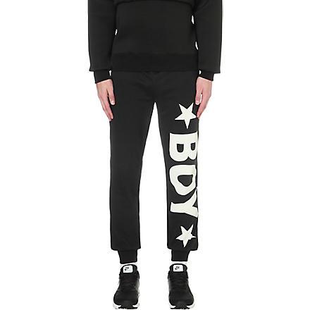 BOY LONDON Jogging bottoms with white logo (Black