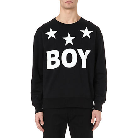 BOY LONDON Boy Star sweatshirt (Black