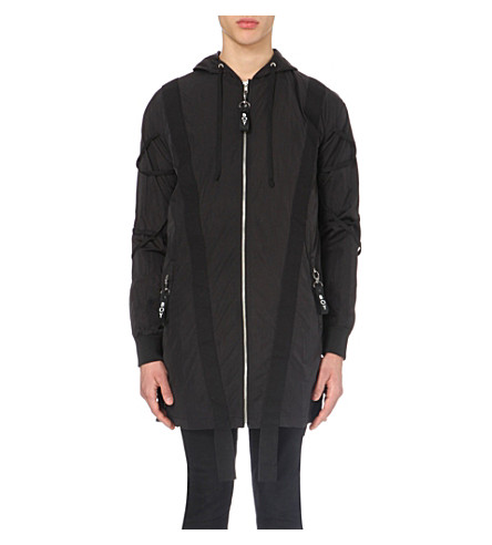 BOY LONDON Parachute shell jacket (Black
