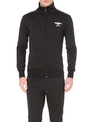 BOY LONDON Stretch-jersey branded jacket