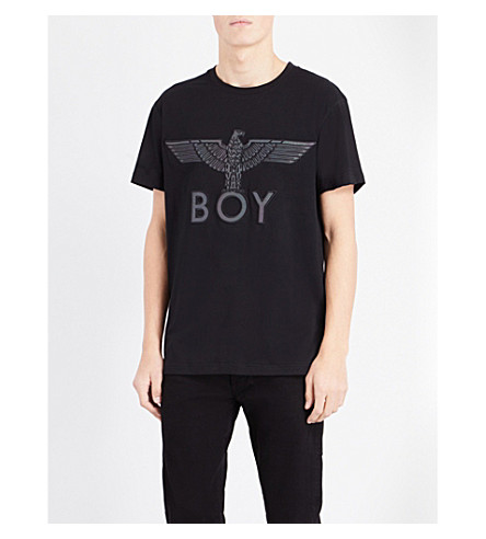 BOY LONDON Boy eagle cotton-jersey T-shirt (Black