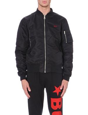 BOY LONDON Eagle-embroidered MA1 bomber jacket