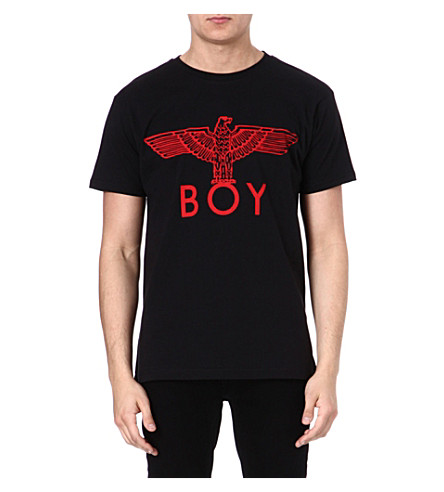 BOY LONDON Red Eagle t-shirt (Black/red