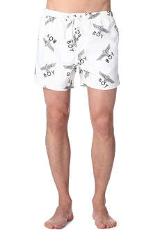 BOY LONDON Logo swim shorts