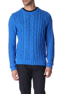 BELLFIELD Addi cable-knit jumper