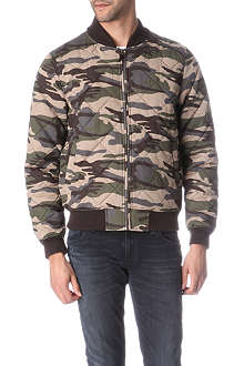 BELLFIELD Cobra quilted bomber jacket