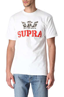 SUPRA Logo crown t-shirt