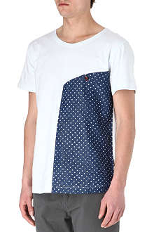 TWO SQUARE Polka-dot t-shirt