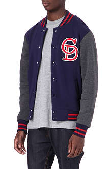 CRIMINAL DAMAGE Ace varsity jacket