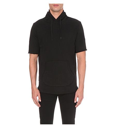 CRIMINAL DAMAGE Baller cotton hoody (Black