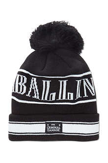 CRIMINAL DAMAGE Ballin' beanie