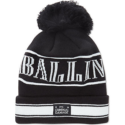 CRIMINAL DAMAGE Ballin' beanie (Black
