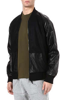 CRIMINAL DAMAGE Chico Letterman bomber jacket