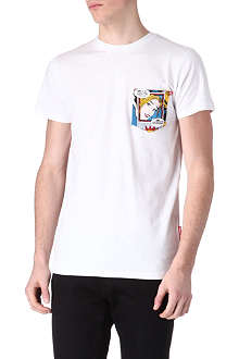 CRIMINAL DAMAGE Comic pocket t-shirt